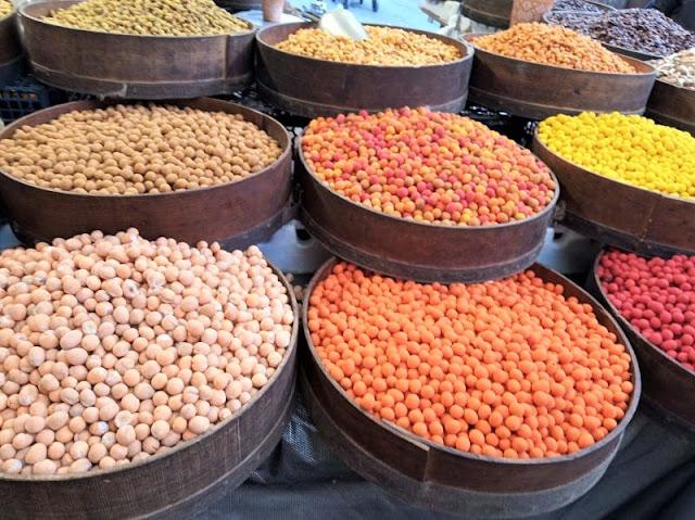 colori al mercato di amman
