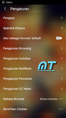 Tutorial Mematiakan Uc News di Uc Browser