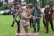 Bupati Tetty Paruntu Pimpin Apel Gelar Pasukan Operasi Lilin Samrat 2020