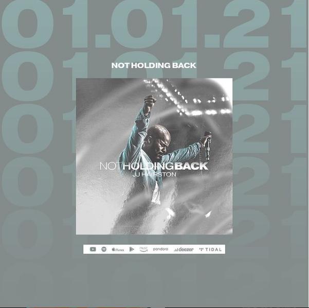 JJ Hairston 2021 Album 'Not Holding Back'