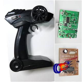 Pcb Resiver Dan Remote Rc Offroad 2.4ghz