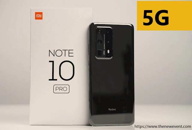 Xiaomi Redmi Note 10, Note 10 Pro and pro Max 5G Expected
