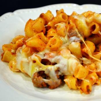 Beefy Macaroni Casserole