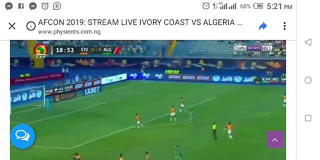 AFCON 2019: STREAM LIVE IVORY COAST VS ALGERIA & MADAGASCAR VS TUNISIA