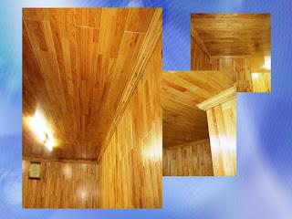 Sàn gỗ cao su - FJL phòng làm việc