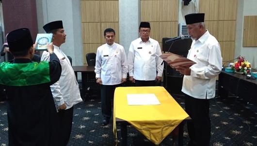 Amasrul Jabat Pj Sekda Kota Padang