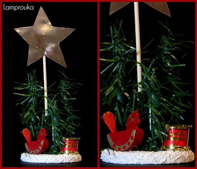 Εύκολα χριστουγεννιάτικα στολίδια για bazaar.