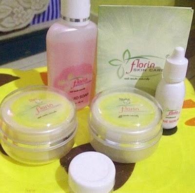 Isi Krim Florin Skin Care Asli