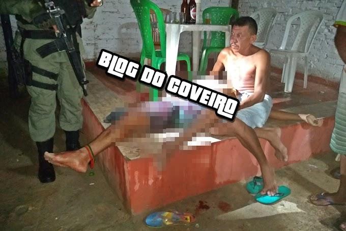 Bebedeira entre primos termina com um preso e outro gravemente ferido a faca em Cocal-PI