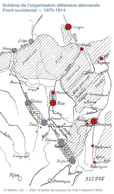 Frontière occidentale de l'Allemagne — Idée générale du système fortifié allemand