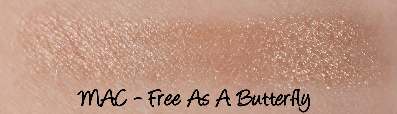 MAC Cinderella: Free As A Butterfly Lipstick Swatches & Review