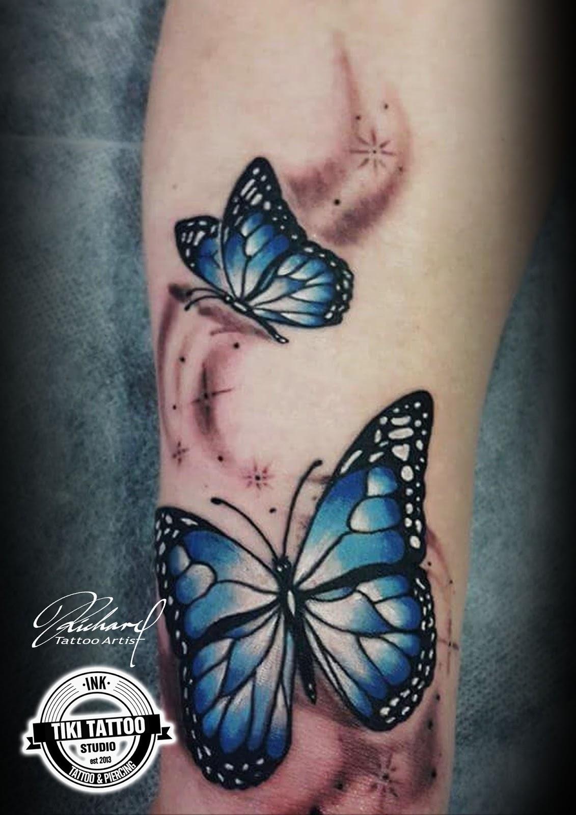 Tiki Tattoo Studios Tatuajes De Mariposas Cual Es El Significado