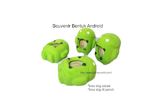 souvenir unik asbak android