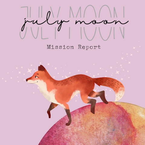 July Goals Follow-Up! How did I do??? - July MOON Mission Report - 2021