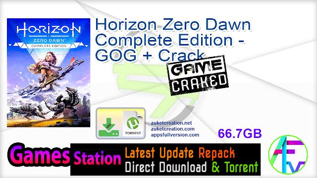 Horizon Zero Dawn Complete Edition – GOG + Crack