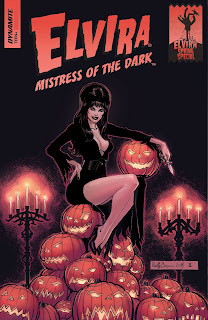 Cover of Elvira Mistress of the Dark Spring Special from Dynamite Entertainment