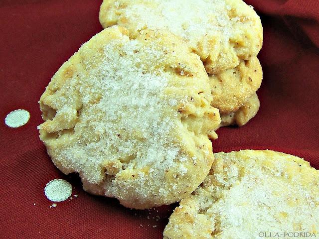 Olla-Podrida: Almond Crunch Cookies
