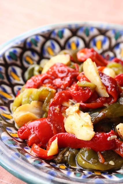 salade morue poivrons portugal