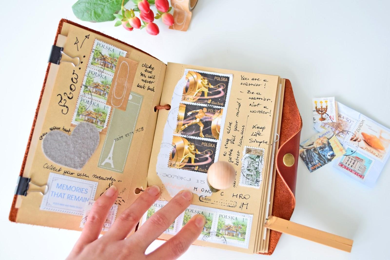 jak zrobić podróżniczy pamiętnik