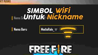 Simbol Sinyal WiFi FF