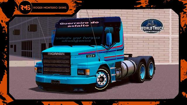 Skins World Truck, Skins Scania 113, Scania 113 qualificada