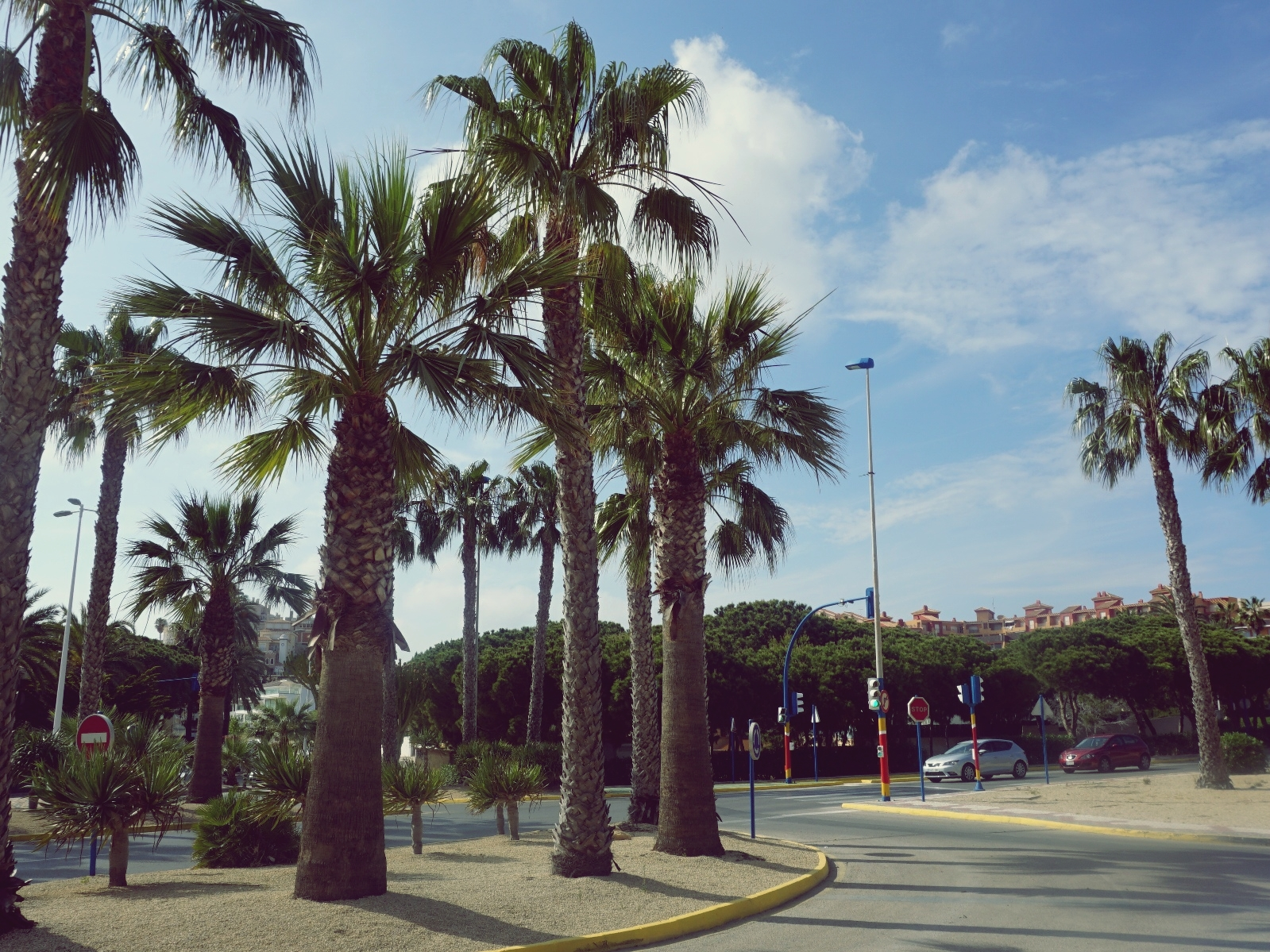 hiszpańskie miasto, La Manga, panidorcia, blog, Hiszpania, podróże, hiszpańskie rondo