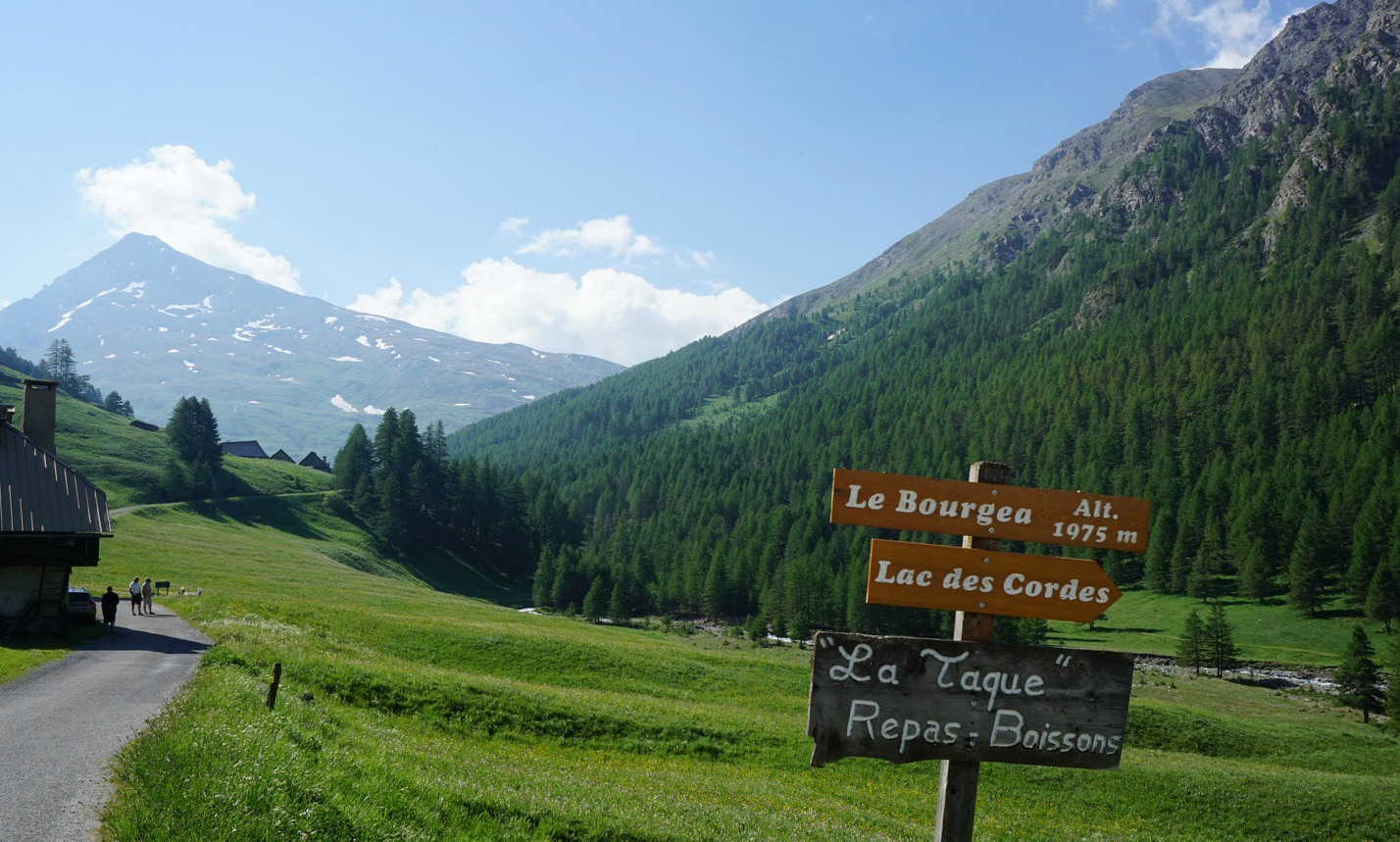 Les Chalps in the Cerveyrette Valley