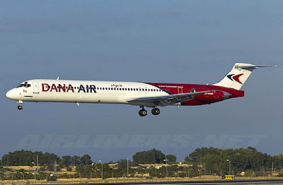 Dana Airlines license suspended