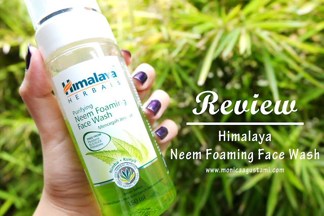 Review Himalaya Neem Foaming Face Wash