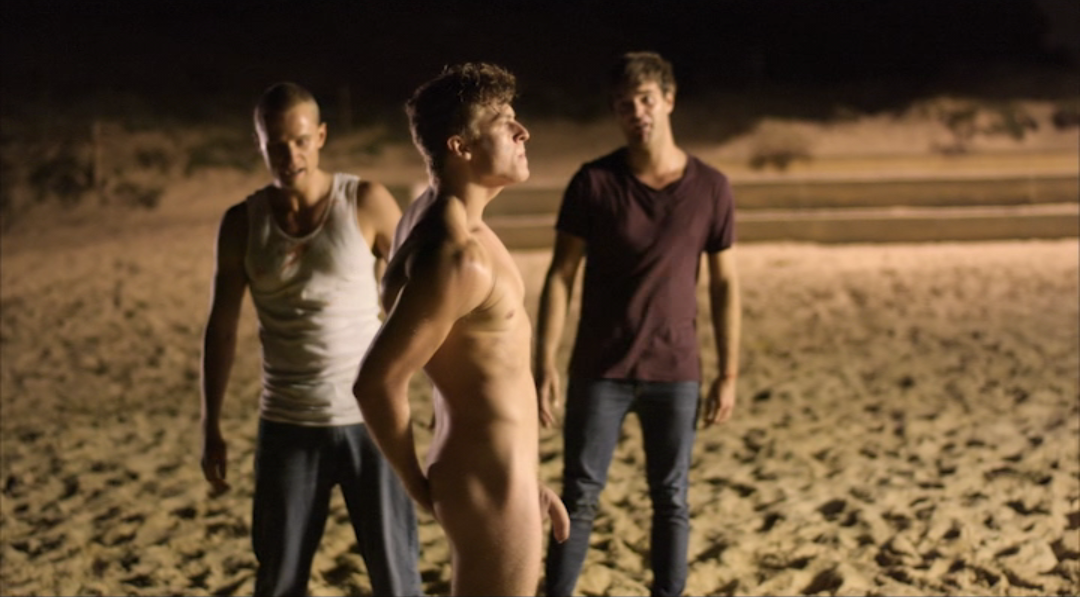 Jack o'connell didn't realize how naked he would get in new play