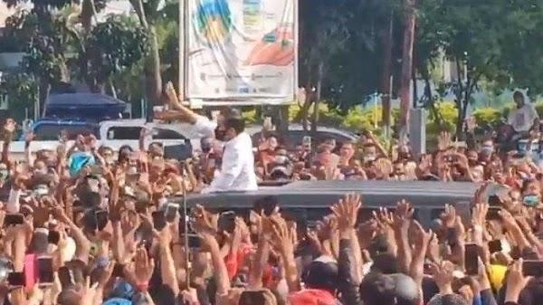 Kerumunan Jokowi Di Maumere, PKS: Apa Artinya Segala Upaya Penanggulangan Covid-19?