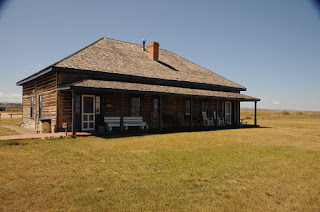 Fort Fetterman front of museum/ officer's duplex