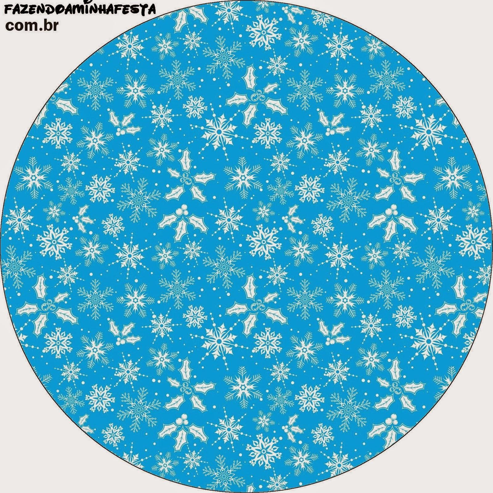 Etiquetas de Frozen en Morado y Celeste para Navidad para imprimir gratis. Toppers o etiquetas de Frozen en Morado y Celeste para Navidad para imprimir gratis.