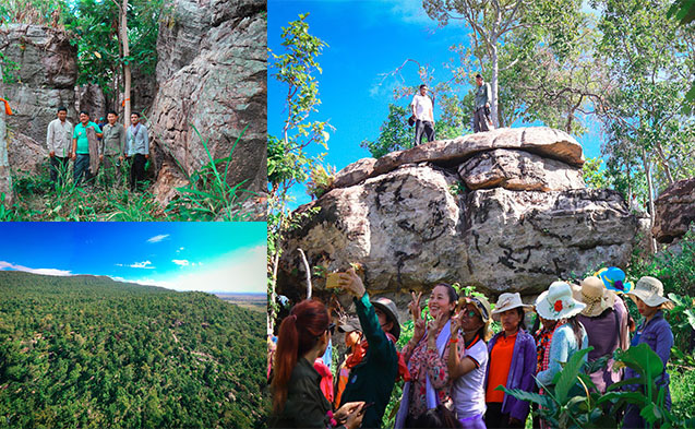 The newly discovered Dragon Mountain(Phnom Neak Sor) Resort in Pursat is truly beautiful