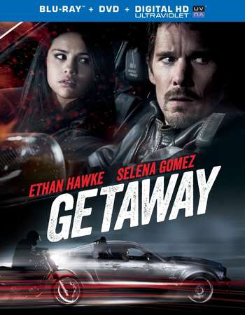 Poster Of Getaway 2013 Dual Audio 300MB BRRip 480p Free Download Watch Online