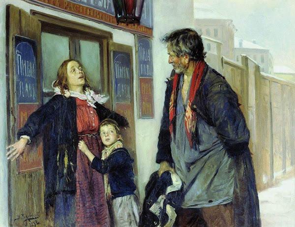 Маковский Владимир Егорович - Не пущу! 1892