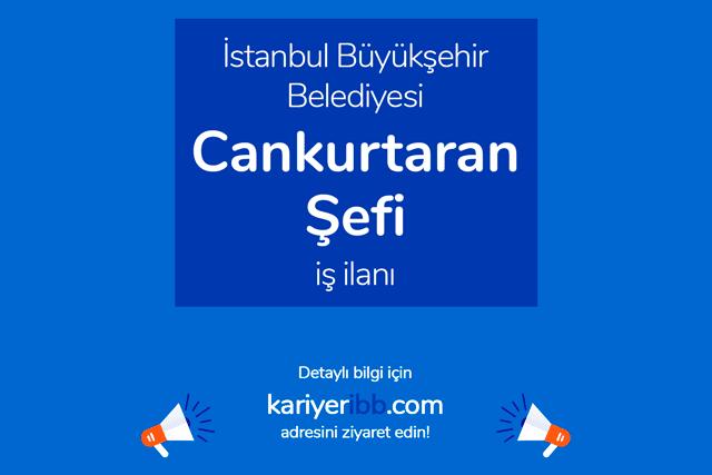 İstanbul Büyükşehir Belediyesi, yaz aylarında çalışacak cankurtaran şefi alacak. Detaylar kariyeribb.com'da!
