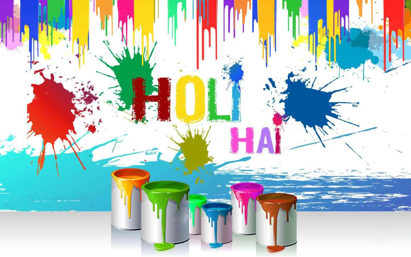 Best Happy Holi HD Cover Images for Facebook