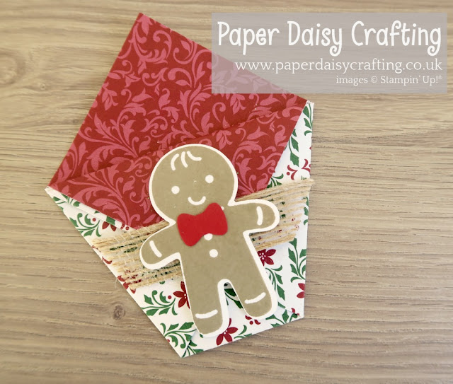 Cookie Cutter pouches by Stampin' Up! Dashing Along DSP