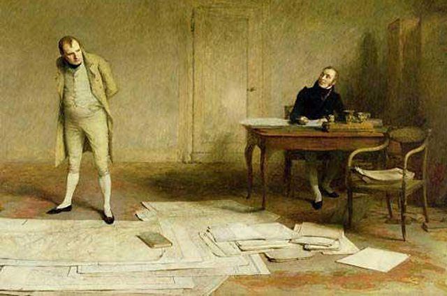 Резултат с изображение за Наполеон I Бонапарт напуска завинаги Франция