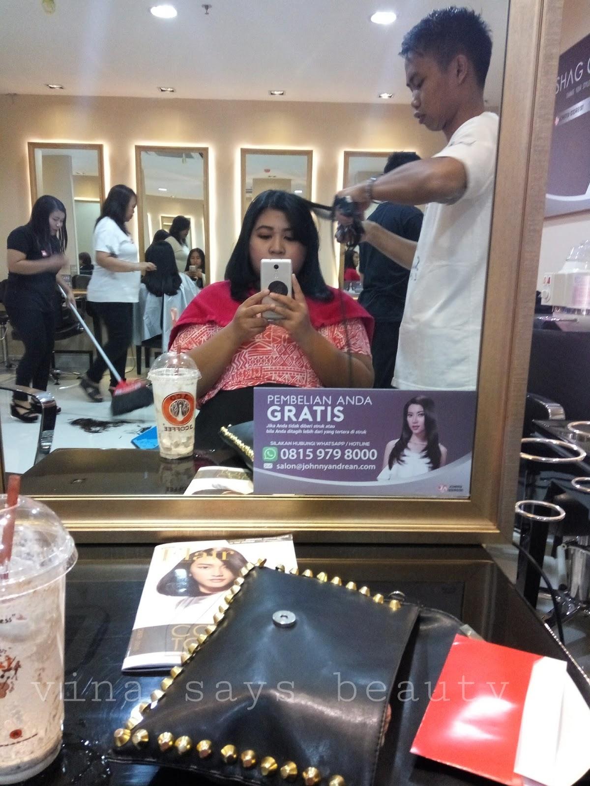 Talks Pengalaman Potong Rambut Di Johnny Andrean Salon Vina Says Beauty
