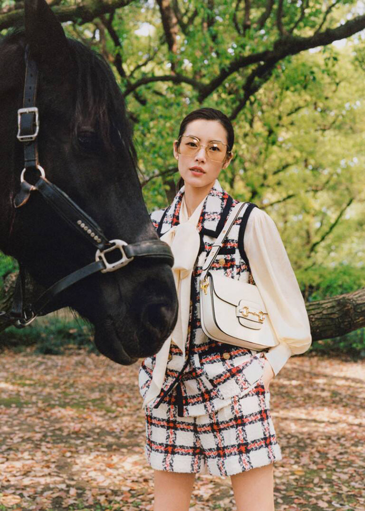 Photographer Greg Lin Jiajie and Chinese supermodel Liu Wen team up for Gucci