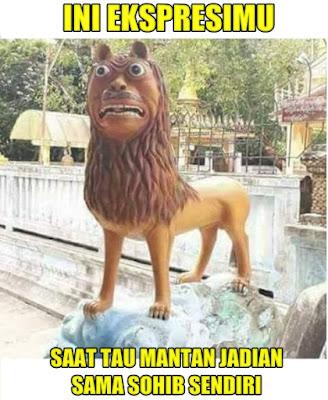 7 Meme 'Patung Adik Macan Cisewu' Ini Bikin Ngakak Nggak Ketulungan