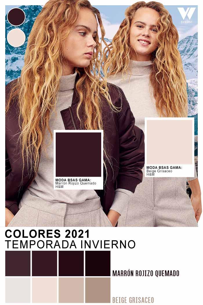 Colores otoño invierno 2021