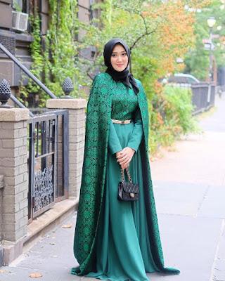 Gaun Pesta Muslim 2017