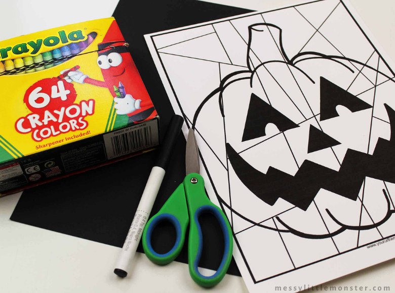 Pumpkin Colouring Page