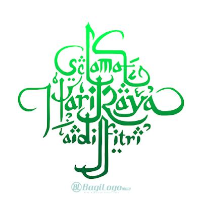 Selamat Idul Fitri Logo Vector