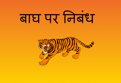 5 Lines on Tiger in Hindi
