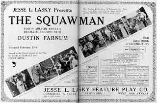 The Squaw Man, la primera película de Cecil B. DeMille