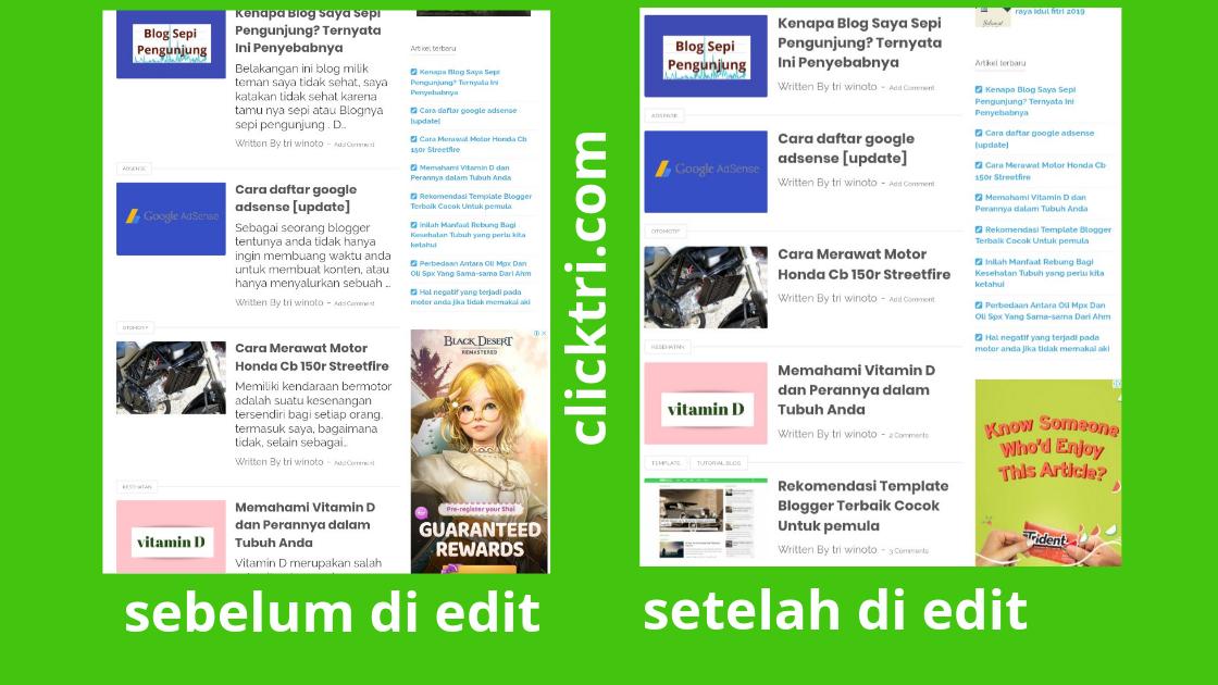 Cara mengatur dan menghilangkan snippet postingan blogger